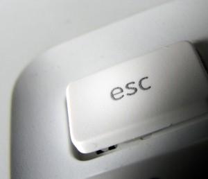 escape toets 2